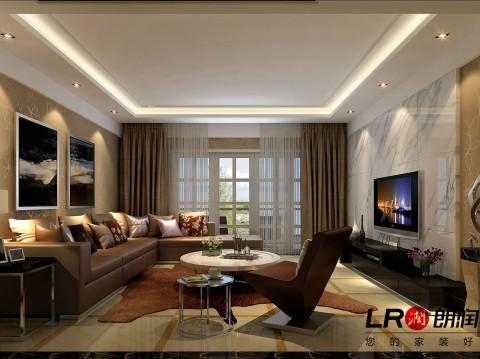 这是客厅的另一个角度的图片,是不是越看越耐看,无论哪一个角度都是一样的完美。