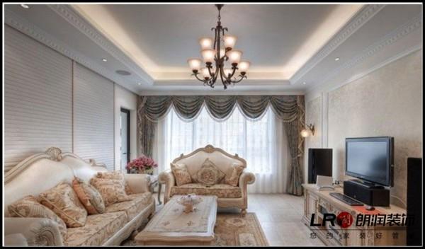 佳兆业君汇上品-三居室-106平米-客厅装修设计