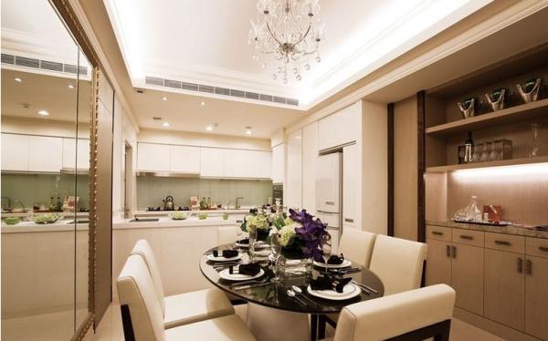 鹭湖宫七区-三居室-120平米-厨房装修设计