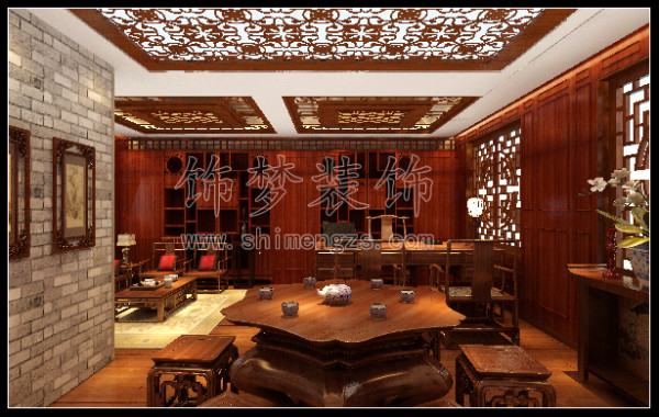 中式古典饰梦装饰装饰