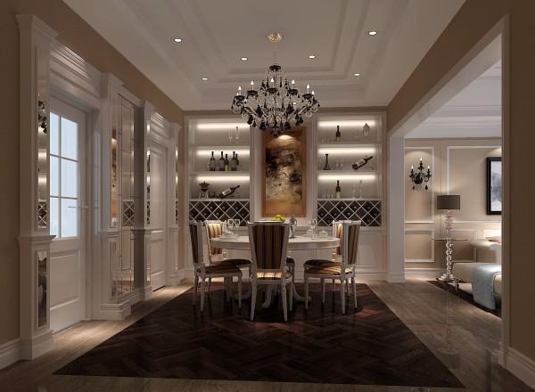 客厅 厨房 餐厅,在一个不大的空间被餐厅的地面和一些顶面筒灯的点缀设计手法划分的井井有条