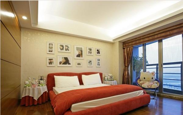 三利云锦-五居室-222平米-卧室装修设计