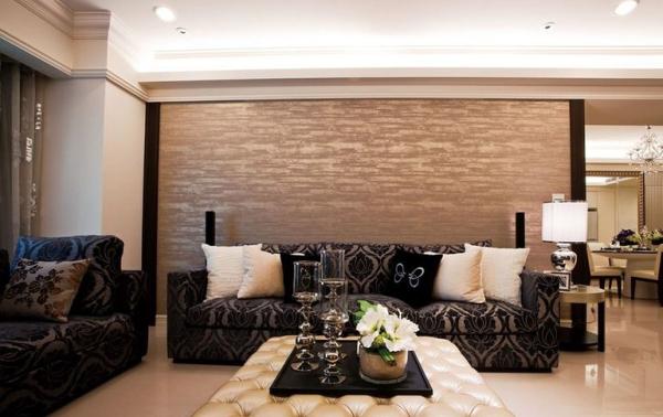 鹭湖宫七区-三居室-120平米-客厅装修设计