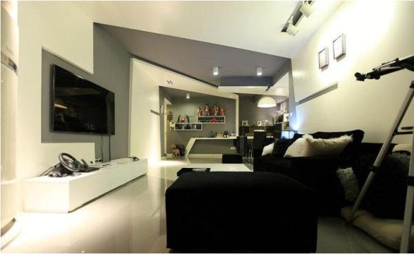 南阳盛世-三居室-115.26平米-客厅装修设计
