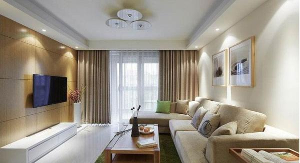 鹭湖宫七区-二居室-86.74平米-客厅装修设计  家具选择上强调让形式服从功能,一切从实用角度出发,废弃多余的附加装饰,点到为止