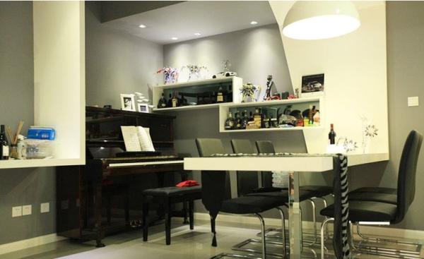 南阳盛世-三居室-115.26平米-餐厅装修设计