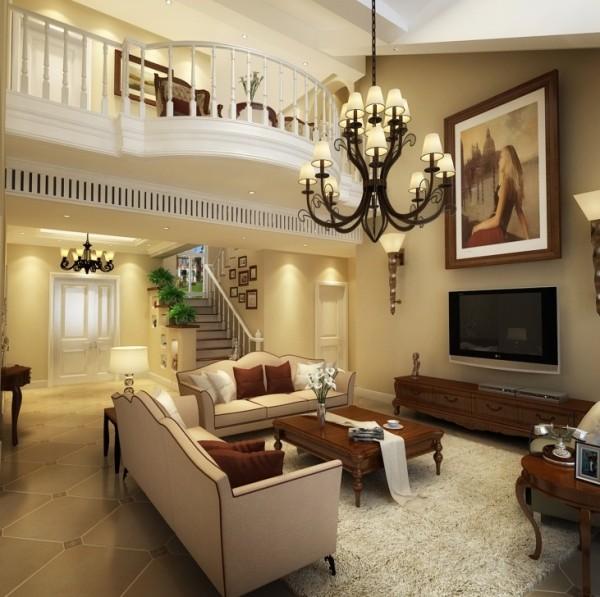水色时光 别墅装修 极简欧式风格设计案例