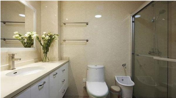 鹭湖宫七区-二居室-86.74平米-卫生间装修设计 家具选择上强调让形式服从功能,一切从实用角度出发,废弃多余的附加装饰,点到为止