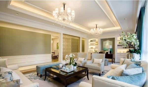 锦城世家-四居室-147.84平米-客厅装修设计