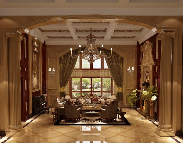 大客厅窗户角度