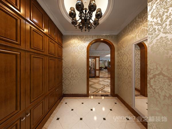 古典的储物空间,合理的运用空间的布局。