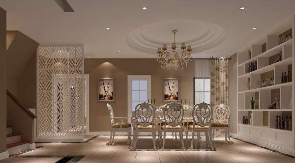 客厅和餐厅的设计,都只为营造出一种舒适、大方的居家氛围。让家人有家的温馨及舒适感!