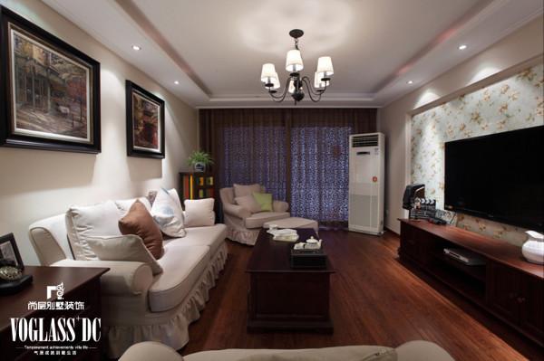 天津装修公司——尚层装饰客厅效果图