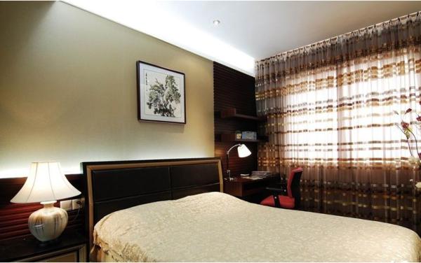 中式装饰卧室设计效果图