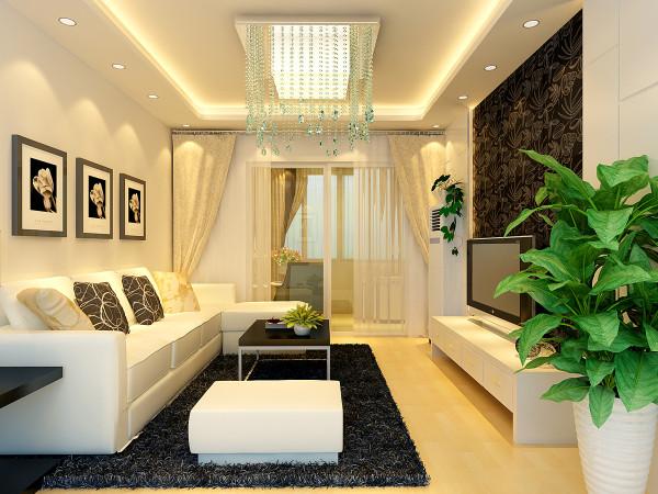 沙发采用暖色调的欧式沙发,稳重又不失简约。