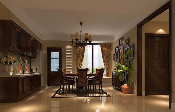 现代欧式厨房,令人耳目一新的厨房,在开放式厨房中,将厨房和客厅相通的部分做成一个吧台,平时可作为餐桌使用,朋友来了,调几杯鸡尾酒,颇有些异国情调,是家居空间更宽敞,更具时尚感。