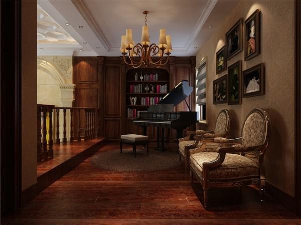 奥克兰别墅装修设计,古典欧式风格案例展示