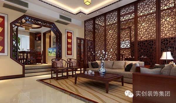 中式镂空演绎古典生活300平别墅