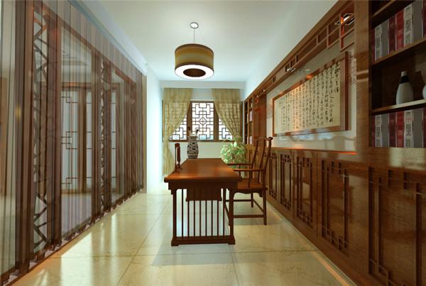 当家居设计的大部分环节都只在表现其本身的功能与形态时,书房的设置却总是极有分寸而又极其丰富地传达着家居主人的内心,从而提升了主人的身份与品位。