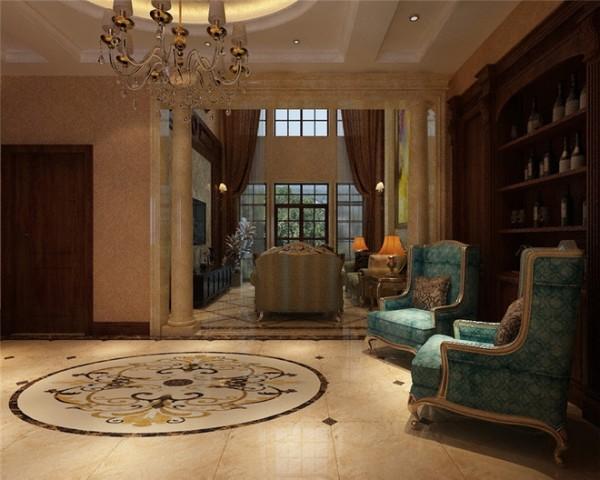 奥克兰别墅装修设计古典欧式风格案例展示