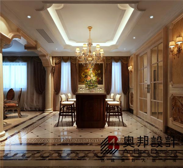 餐厅吧台空间设计