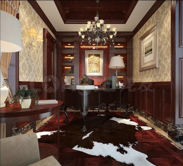 原河名墅欧式古典装修设计案例,效果图展示