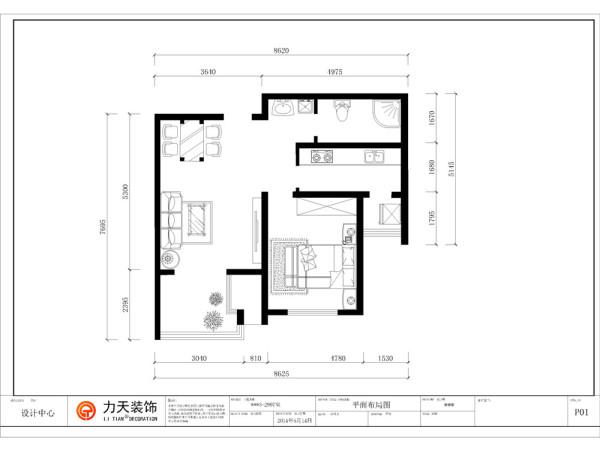 房高为二米七左右,建筑面积为73.38平方米。进门便是客厅,靠右门部分的区域可划分为餐厅区域使用,餐厅向里是客厅,家具位置均为正常摆放,客厅外带有6平方米左右的露台
