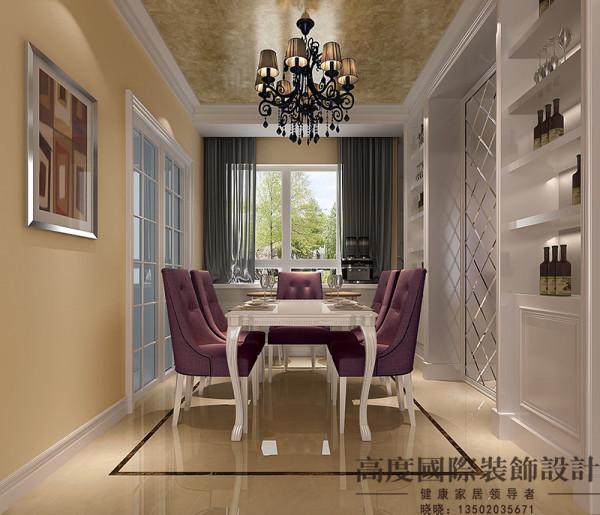 传统欧式家具的奢华与现代家具的实用性完美的结合,营造了一个舒适、温馨的空间。