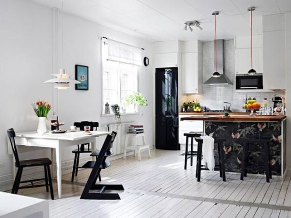 开放式厨房,放大空间,放飞心情
