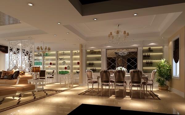 现代欧式厨房,令人耳目一新的厨房,这是开放式厨房带来的空间感受。在开放式厨房中,将厨房和客厅相通的部分做成一个吧台,朋友来了,调几杯鸡尾酒,颇有些异国情调,是家居空间更宽敞,更具时尚感。