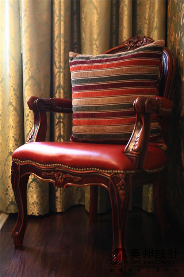 实木美式座椅