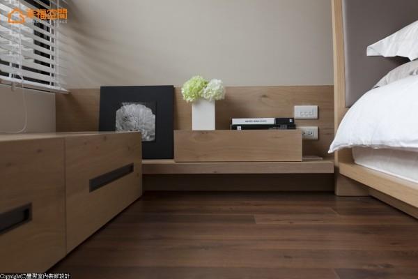 压低线条-设计师压低台面高度,开阔空间视野。