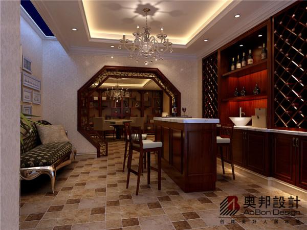 中式雅韵的过廊门洞