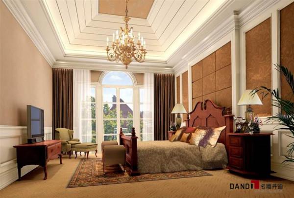 名雕丹迪设计-欧式风格卧室