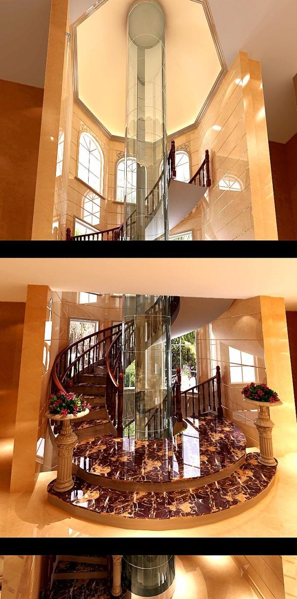 地下楼梯效果图