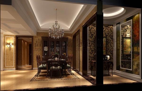 设计思路,每个角落,都有一个故事。整个别墅外观具有古堡式情调,而业主恰恰不是很喜欢这种格调,她希望设计体现简洁、优雅大方的格调,且与建筑外观有机融合为一体。