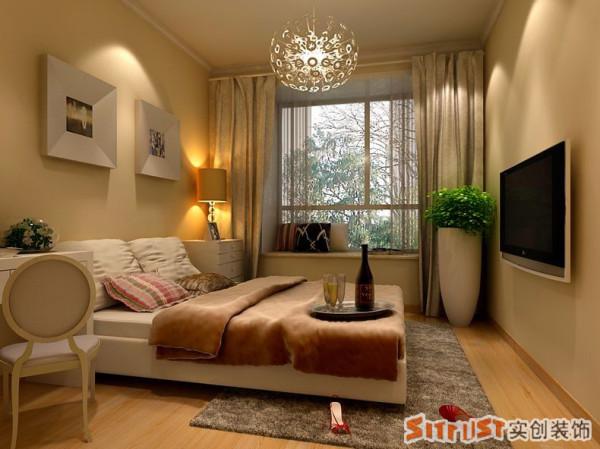 【成都实创装饰】—整体家装—卧室装修效果图