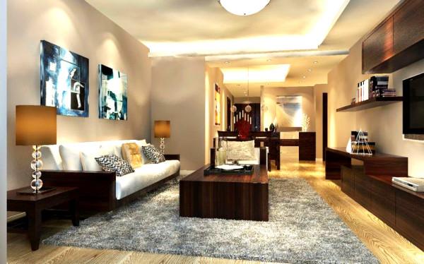 【成都实创装饰】—整体家装—客厅装修效果图