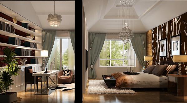 卧室加书房