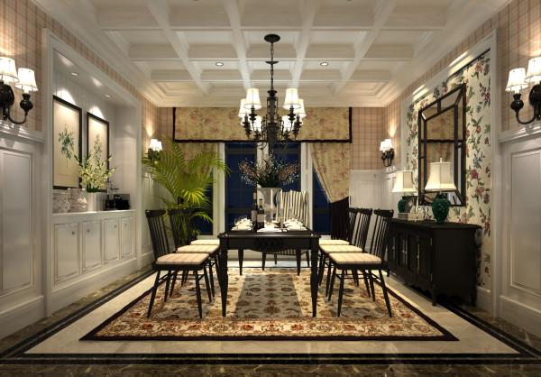 窗帘与地毯的呼应、壁板的高度、餐边柜比例的拿捏~~~无处不体现出设计师的的精心设计和女主人对舒适生活的追求。