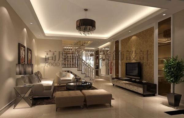 设计师通过业主的个人需求以及自己的专业意见整体围绕着顶层的客观条件敲定了简约偏欧式的风格。