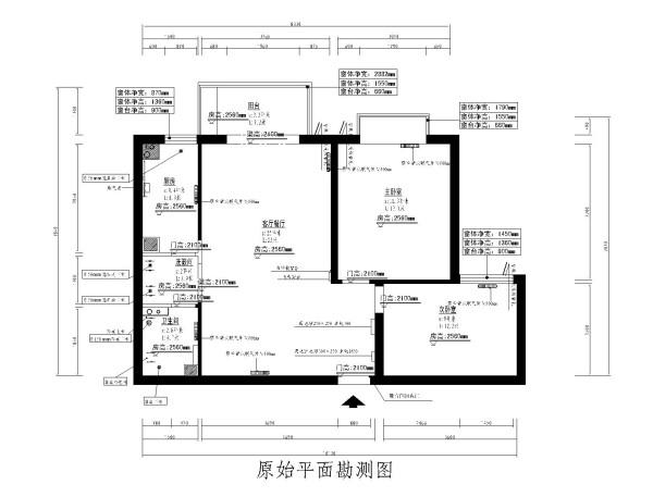 户型图,整体空间虽简单,但使用功能得到了很好的表现,明快大方,简约中不失高雅。