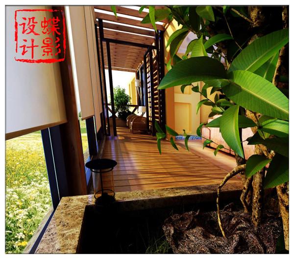 阳台即可户外休闲饮茶,同时又与室外景观融为一体,惬意,舒适浑然天成!