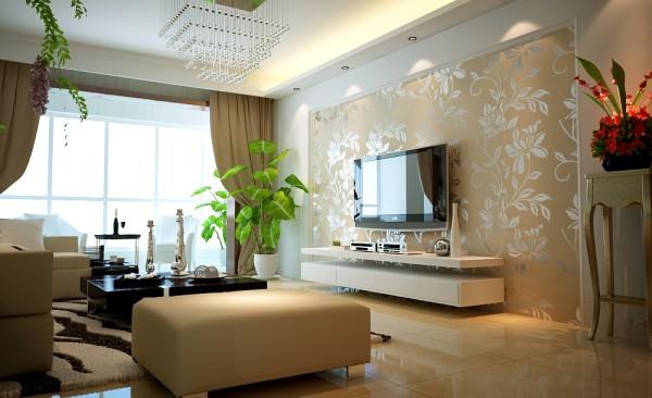 客厅的植物可以净化空气,还可以吸热降温。