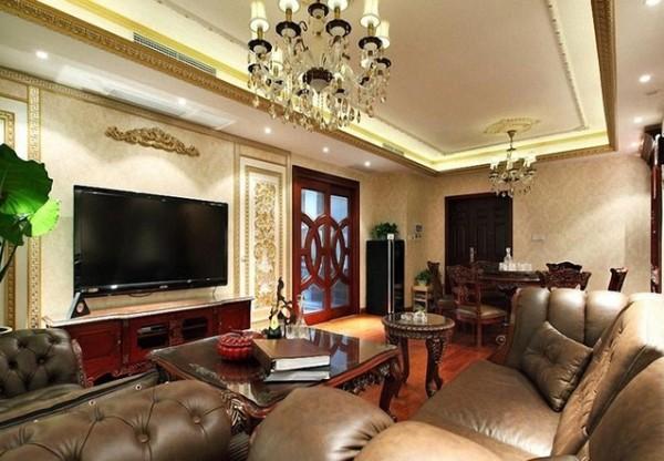 138平休闲美式家居设计