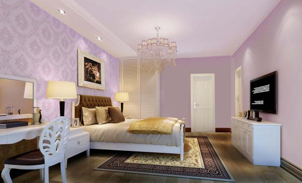 卧室静寂而闲适,每逢业主回到家中,调和的色彩都会令业主得到身心的完全放松。