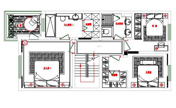 二楼平面方案图
