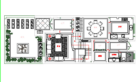 一楼平面方案图