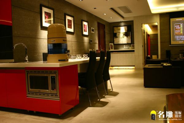 名雕装饰设计--香瑞园--现代简约-客厅餐厅过道