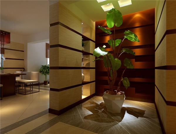 设计理念:光影与植物的结合和墙饰的结合。 亮点:如梦如幻的光影变化。